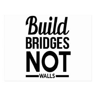 Postal La estructura tiende un puente sobre NO las