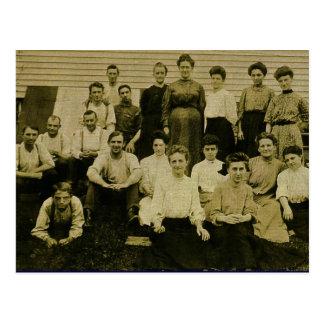 Postal La fabricación CA 1903 del cigarro de Ben Franklin