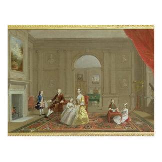 Postal La familia del tocino de Juan, c.1742-43 (aceite