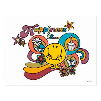 Postal La felicidad de Sr. Happy el | es…