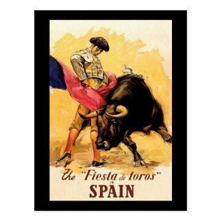 Postal La fiesta De Toros In España