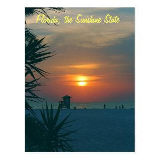 Postal La Florida, el estado del sol