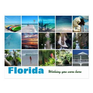 Postal La Florida que le deseaba estaba aquí fotografía