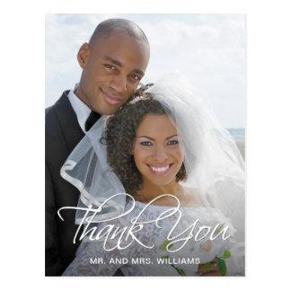 Postal La foto preferida del boda le agradece