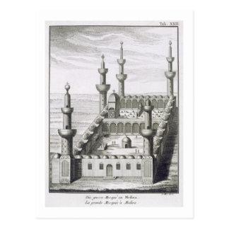 Postal La gran mezquita en Medina, de 'en Arabi de los