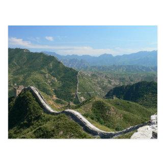 Postal La Gran Muralla de China, China