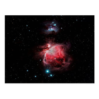 Postal La gran nebulosa en Orión