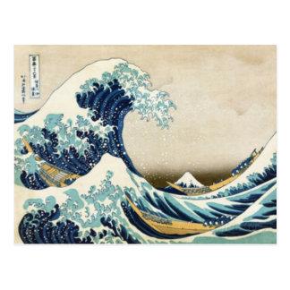 Postal La gran onda de Kanagawa