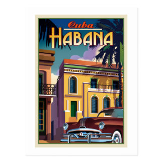 Postal La Habana Cuba