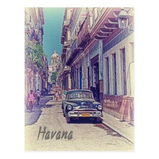 Postal La Habana, Cuba