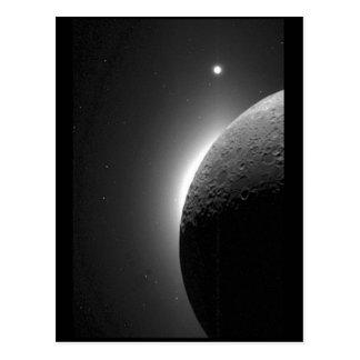 Postal La imagen magnífica de la NASA, la luna se