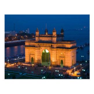 Postal La INDIA, Bombay (Bombay): Entrada de la India/