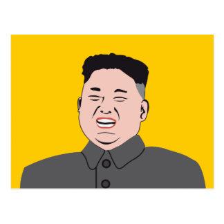 Postal La Jon-O.N.U de risa de Kim