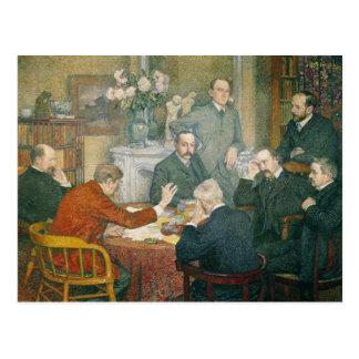 Postal La lectura, 1903
