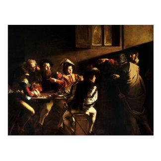 Postal La llamada de St Matthew