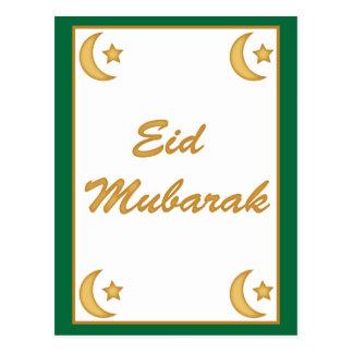 Postal La luna de Fitr del al de Eid Mubarak Eid