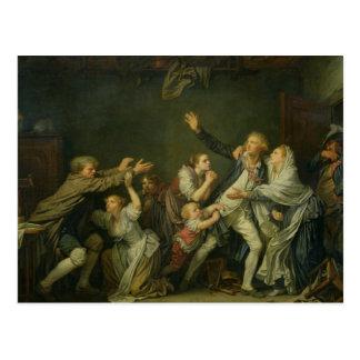 Postal La maldición o el hijo desagradecido, 1777 del
