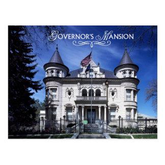 Postal La mansión del gobernador, Salt Lake City, Utah