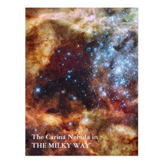 Postal La nebulosa de Carina