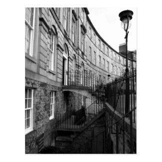 Postal La nueva ciudad de Edimburgo