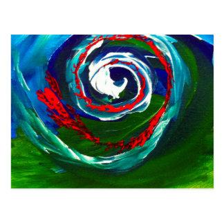 Postal La onda espiral del infinito