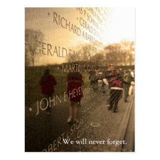 Postal La pared - edición del fin de semana del Memorial