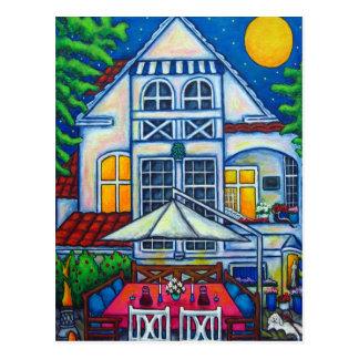 Postal La pequeña casa festiva de Lisa Lorenz