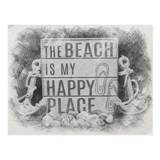 Postal La playa