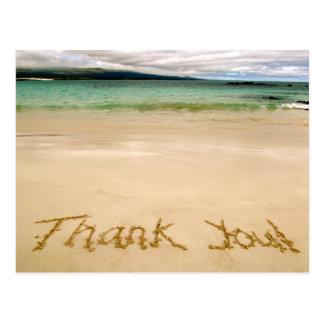 "Postal ¡La playa ""le agradece"" observar Postal-Envía en"