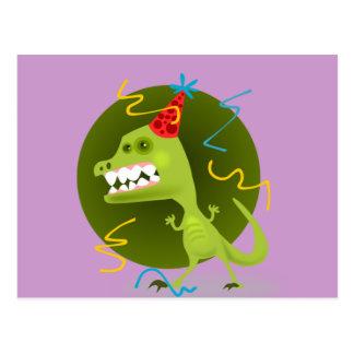 Postal La roca de Dino - fiesta de cumpleaños del