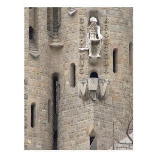 Postal La Sagrada Família, Barcelona