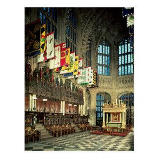 Postal La señora capilla, comenzada en 1503