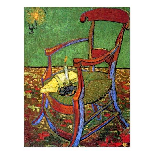Postal La Silla De Gauguin De Vincent Van Gogh