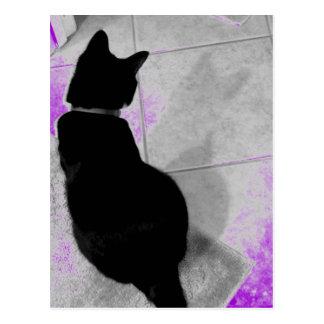 Postal La sombra B de Lucy+W