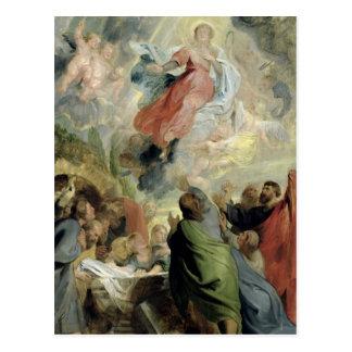 Postal La suposición del Virgen María