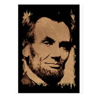 Postal La taza de Lincoln