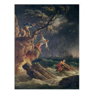 Postal La tempestad, c.1762