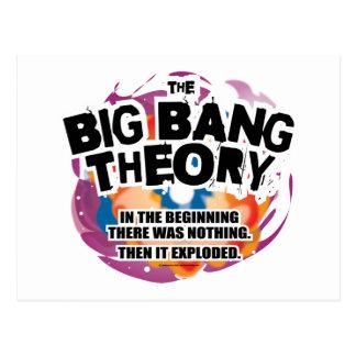 Postal La teoría de Big Bang