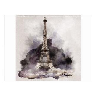 Postal La Torre Eiffel de París