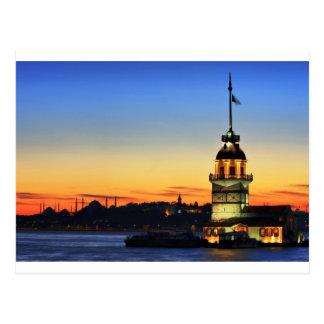 Postal La Torre-Kiz Kulesi de la doncella