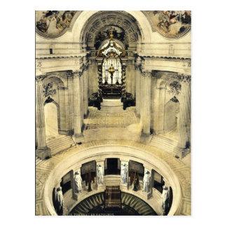 Postal La tumba de Napoleon, obra clásica Photochrom de