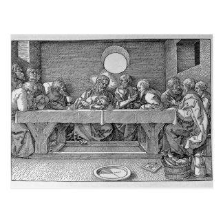 Postal La última cena, pub. 1523