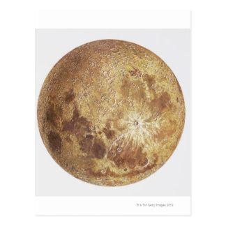 Postal Lado oscuro de la luna, ejemplo