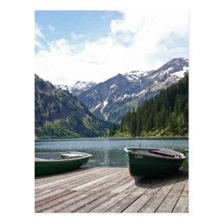 Postal Lago alpino