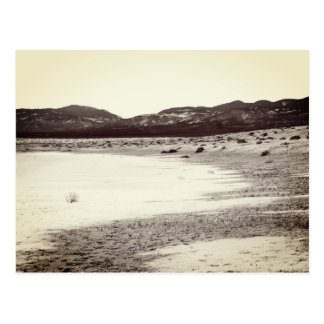 Postal Lago Carrizo California llana soda