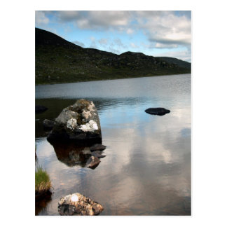 Postal Lago Easky, tema de Sligo, Irlanda