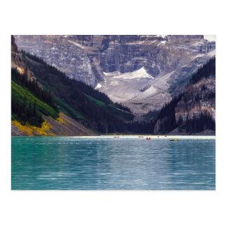 Postal Lago Louise, Alberta, el Canadá