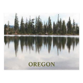 Postal Lago Oregon Carl