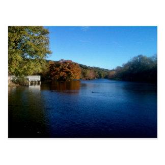 Postal Lago park de Landa