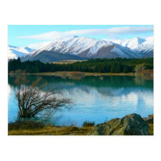 Postal Lago Tekapo, Nueva Zelanda